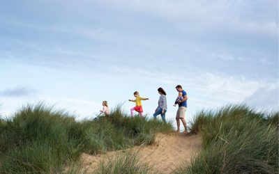 FAMILY PHOTOSHOOT ON OLD HUNSTANTON BEACH, NORFOLK